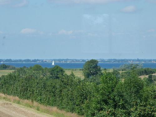 Blick von der Galerie auf die Ostsee