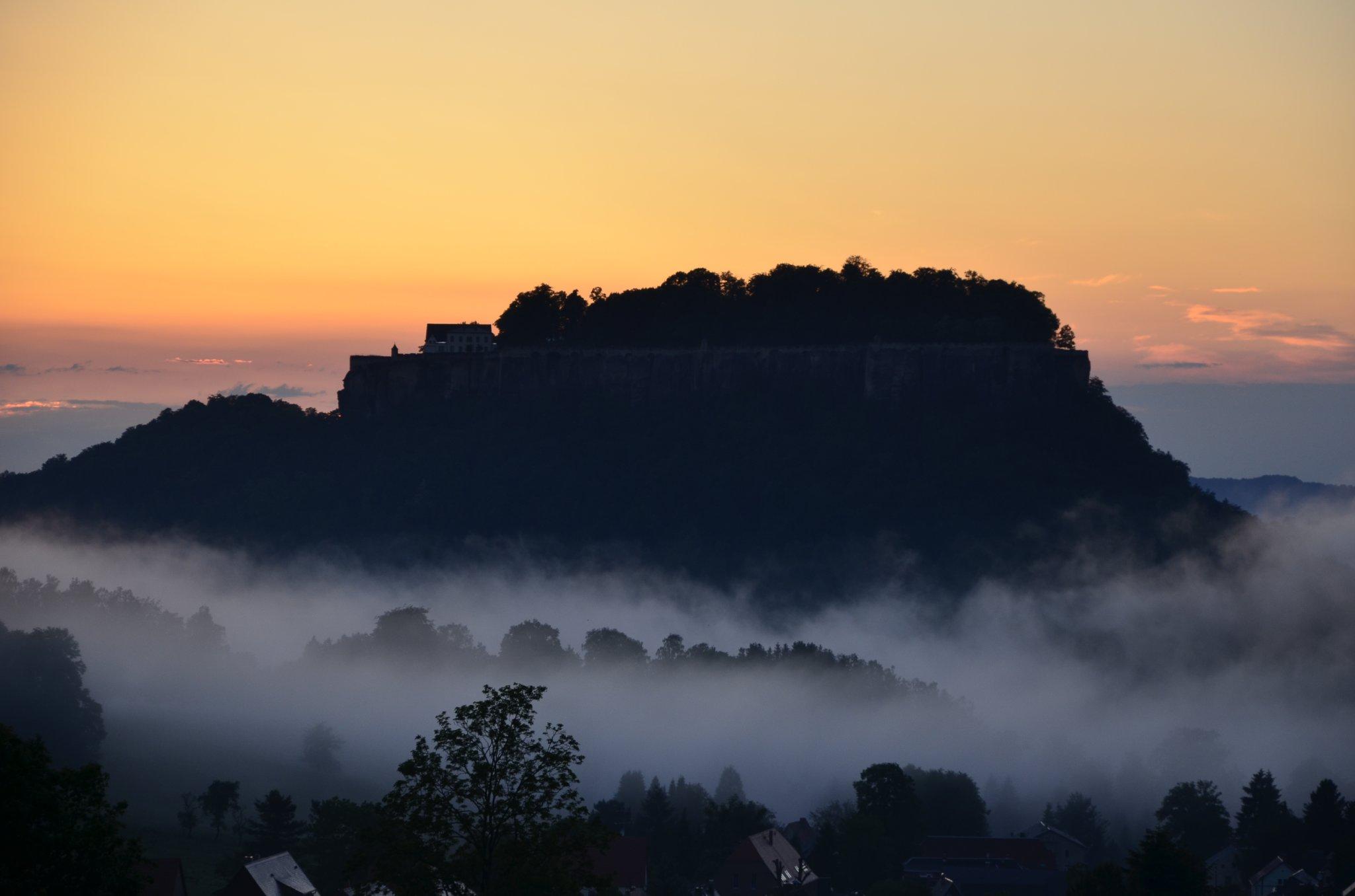 Bastei mit Blick zum Lilienstein