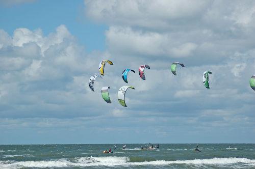Die Kiter in SPO