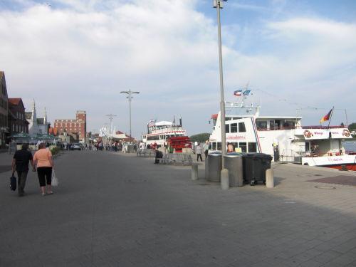 Kappeln Nordhafen mit Ausflugsschiffen