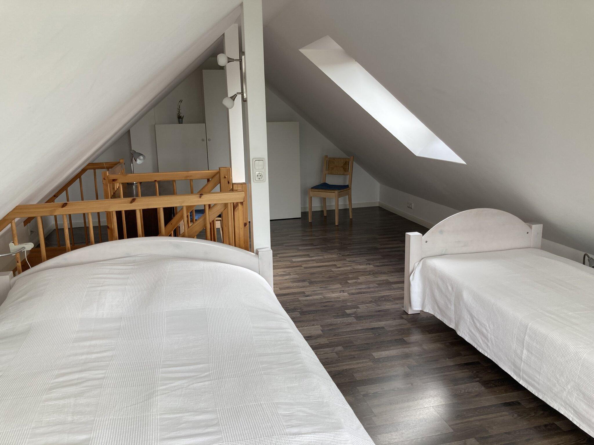Schlafzimmer mit Traumblick