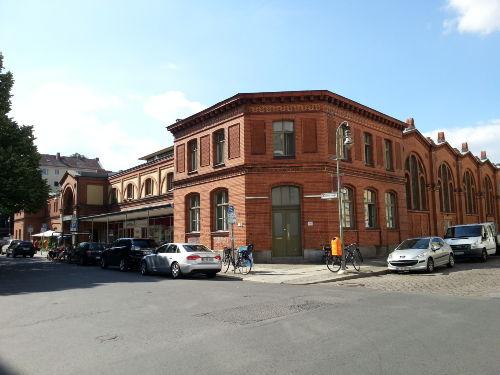 die alte Markthalle von 1891