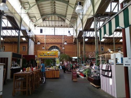 spazieren Sie zur Arminiusmarkthalle