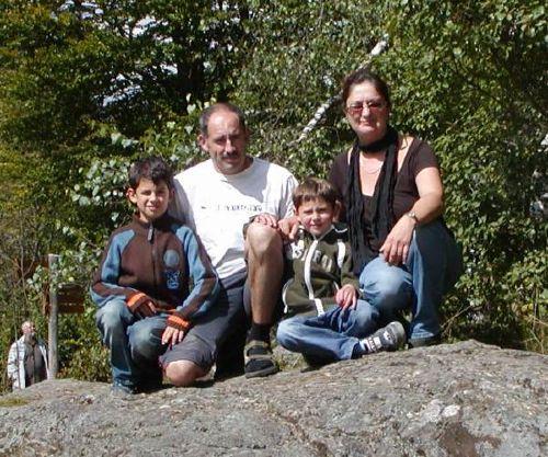 Fam. Bauer Gerald, Ute, Jonas und David
