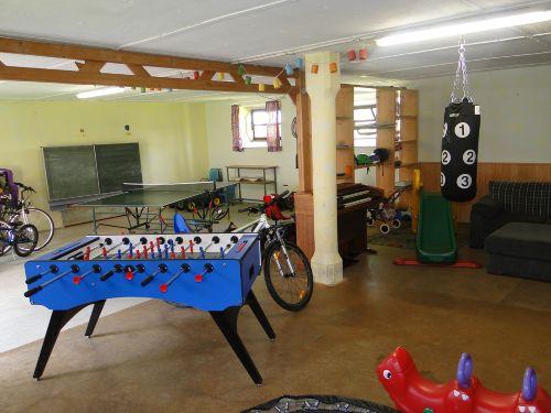 Mit Spielplatz und Fahrradverleih
