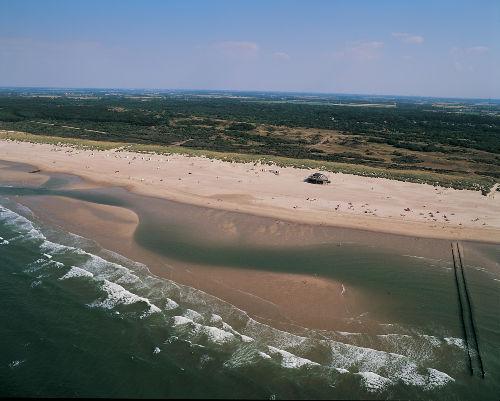 Das Strand von Oostkapelle