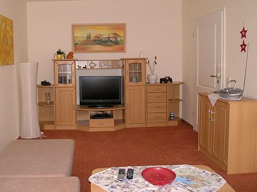 Fernsehen im Wohnraum