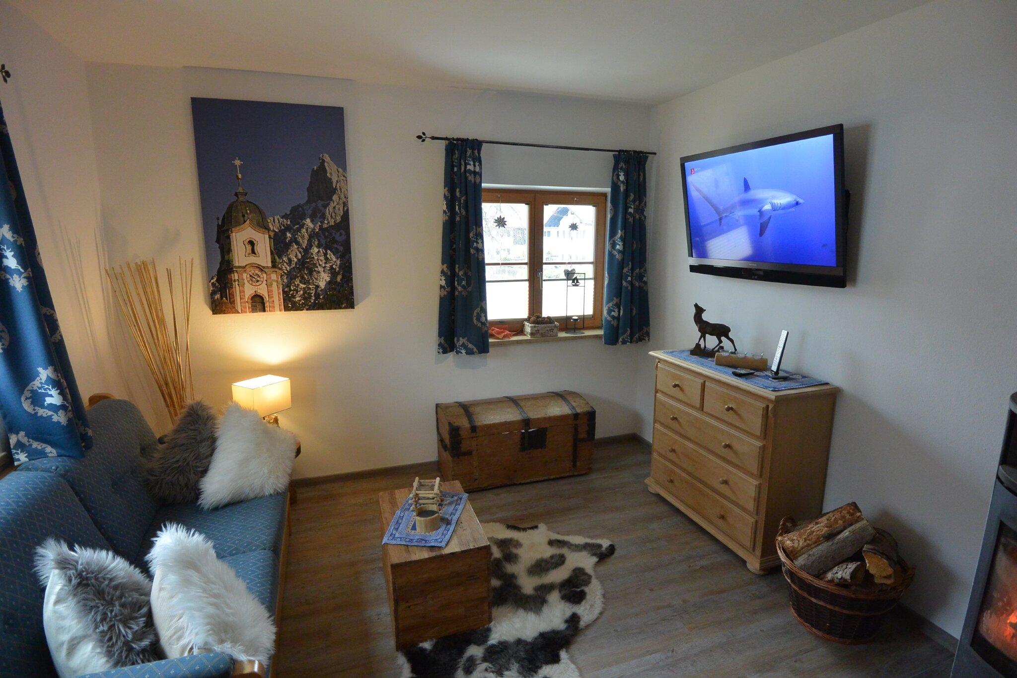 Schlafzimmer -1- mit großen Doppelbett