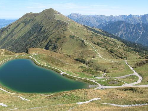 Bergwanderweg Kanzelwand - Fellhorn
