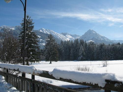 Ausblick aufs Nebelhorn