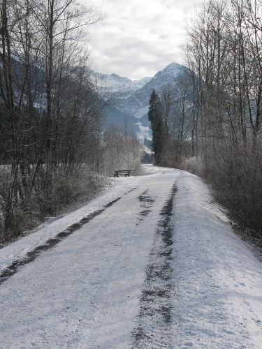 Illerweg nach Oberstdorf