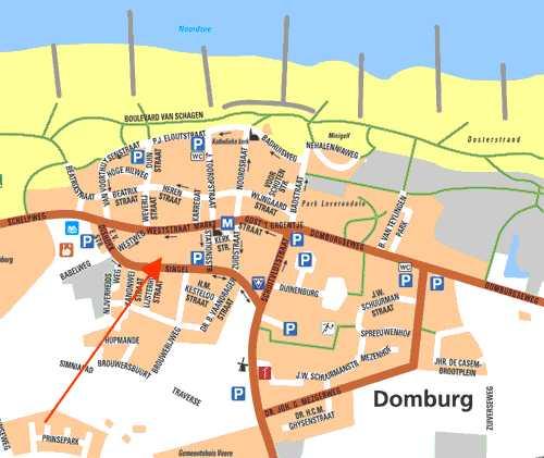 Grundriss Domburg