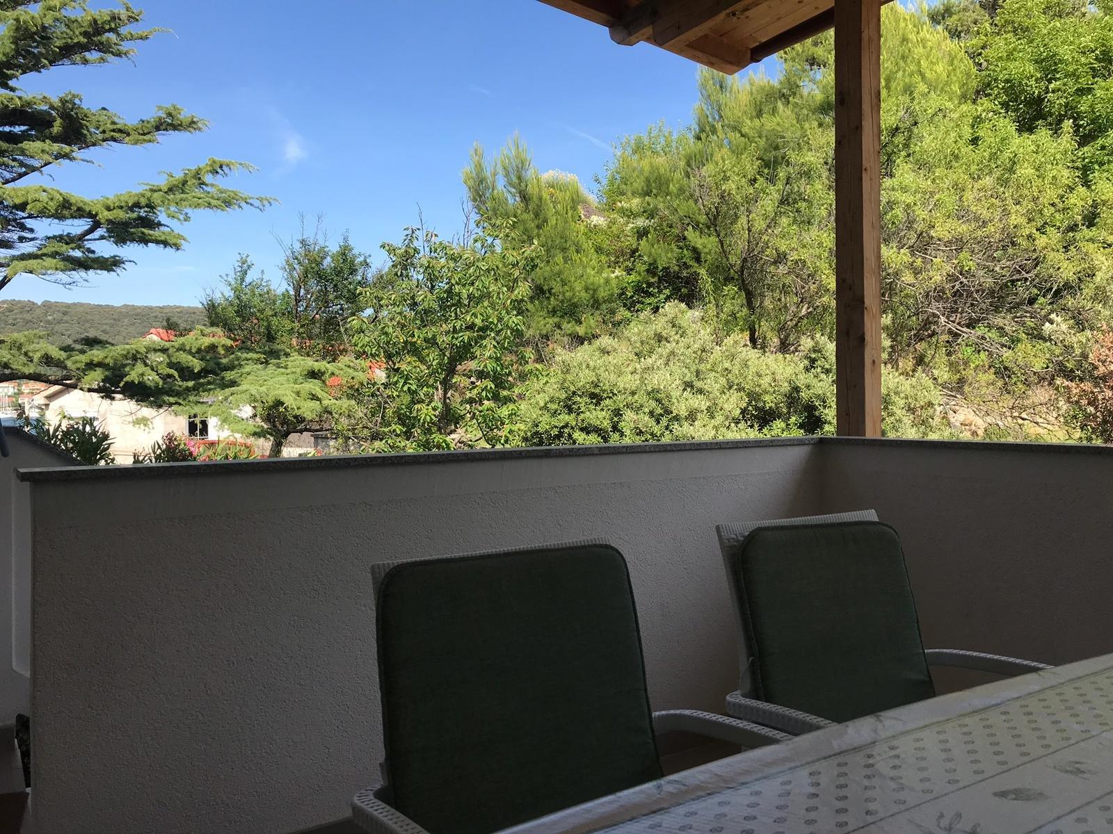 Apartment für 4 bis 6 Personen.