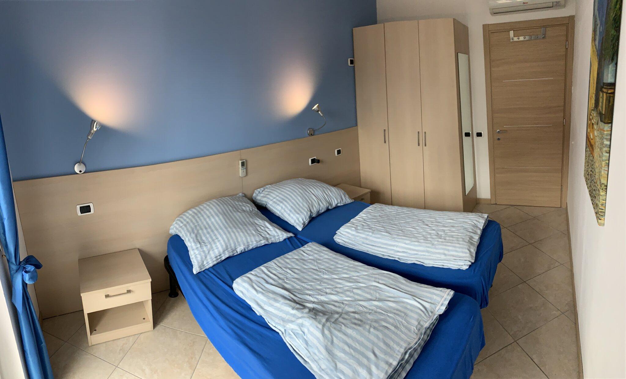 Schlafzimmer 2 mit Einzel- o. Doppelbett
