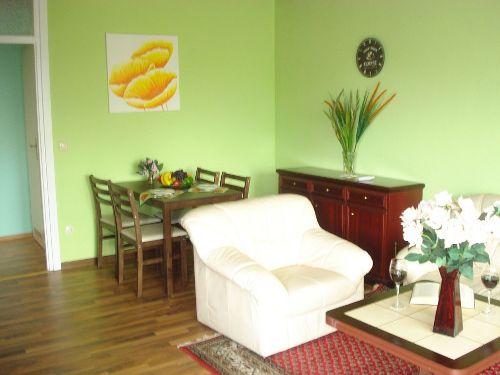 Ess-Tisch im Wohnzimmer