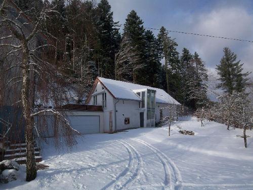 Maison de l'Eau im Winter