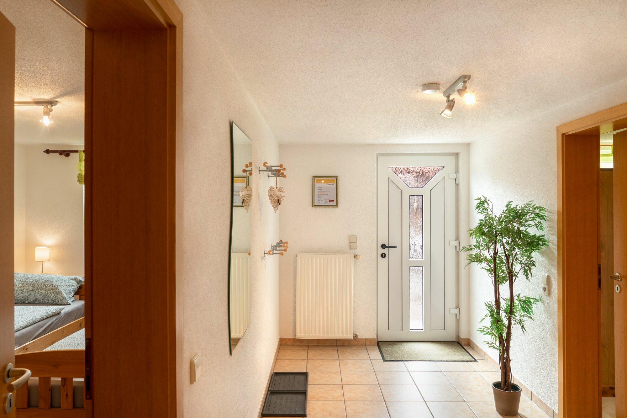 Herzlich Willkommen - Eingangsbereich