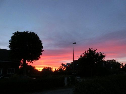 Sunset Sahrensdorf