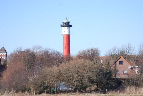 Der alte Leuchtturm in Wangerooge