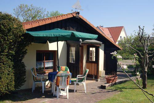 Eingang Haus Strandfloh mit Westterrasse