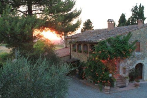 Sonnenuntergang auf Saletta