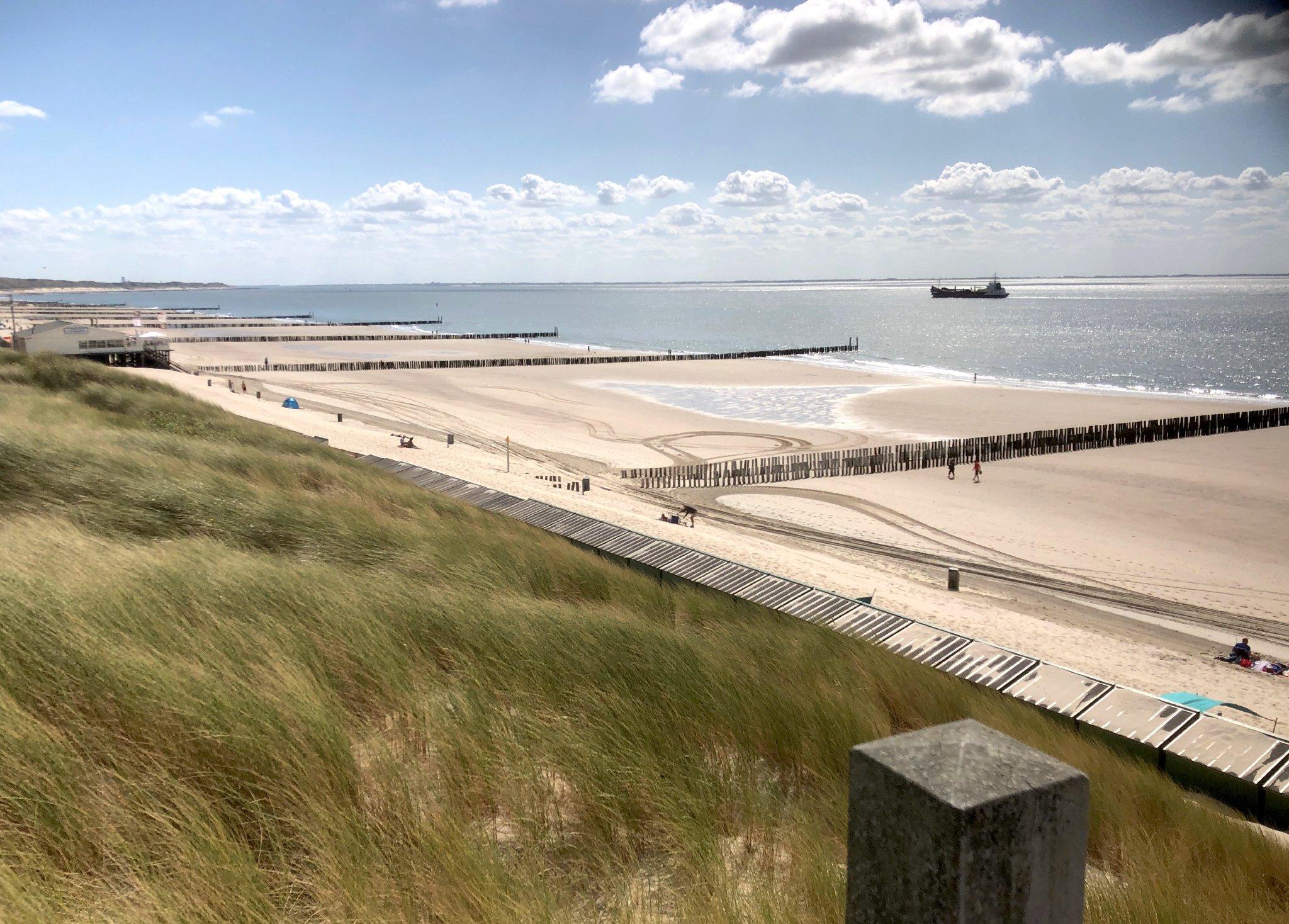 Strand zwischen Oostkapelle und Domburg
