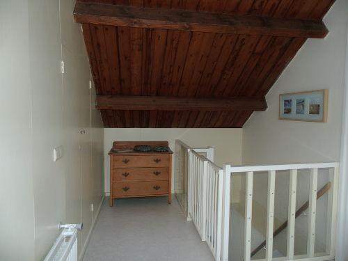 Küche mit Treppengitter