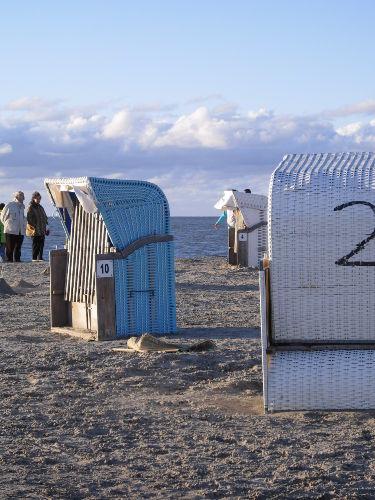 Strandkorb in Norddeich