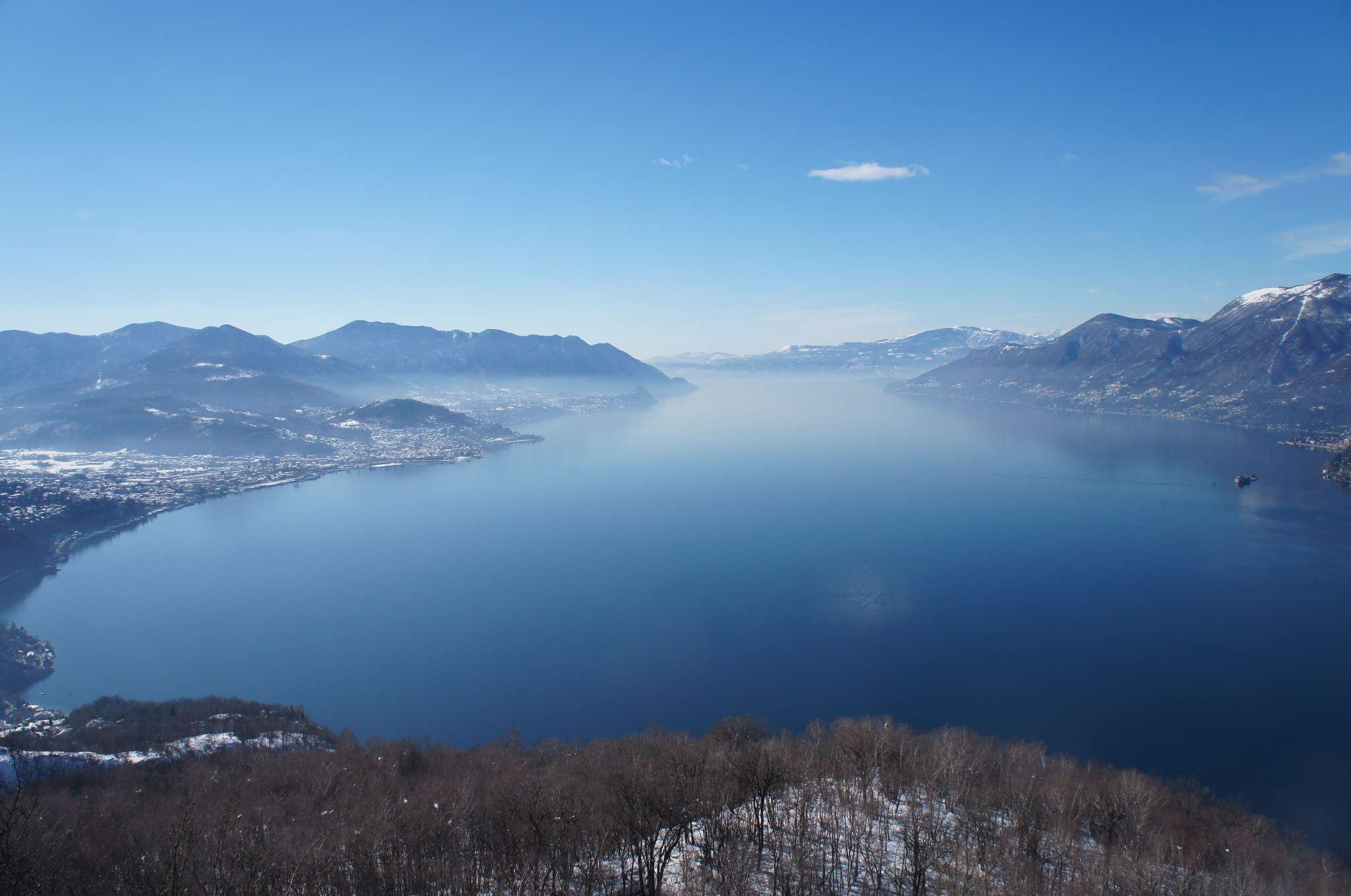 "Winterlicher Blick vom ""Giro del Sole"""