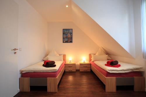2 Schlafzimmer im Obergescho�