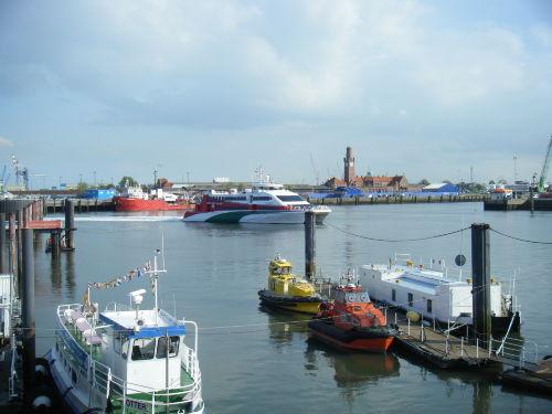 Cuxhavener Hafengebiet