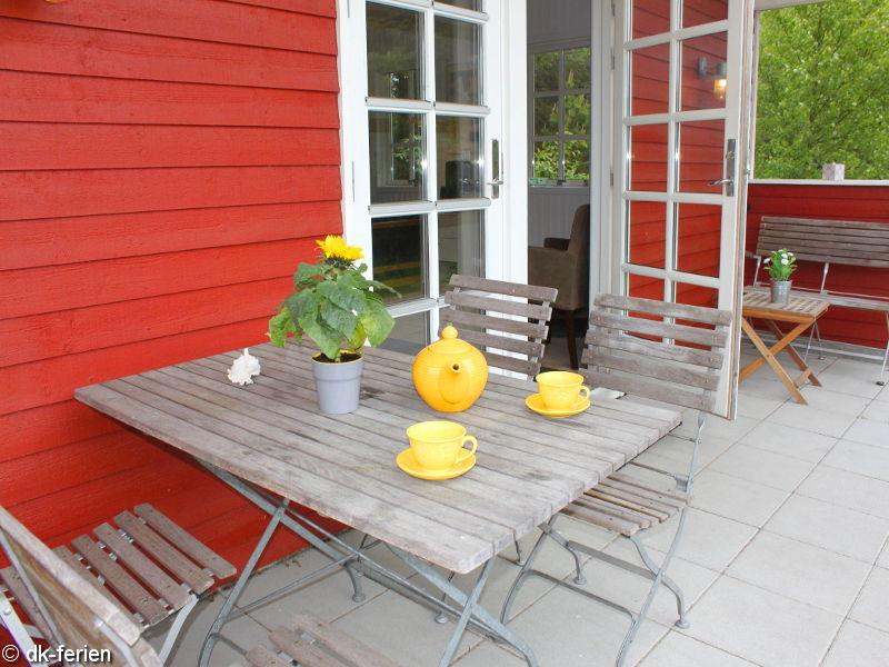 Terrasse vom Henriks Hus