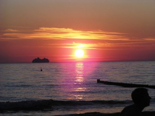 Ostsee - Sonnenuntergang