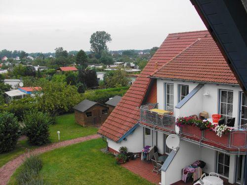 Blick auf das zweit Haus und Kleingarten