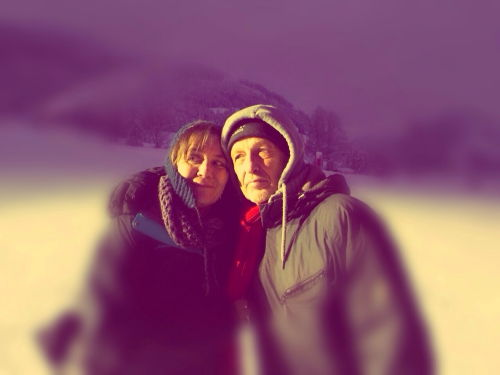 Meine Frau Anna- Maria und ich