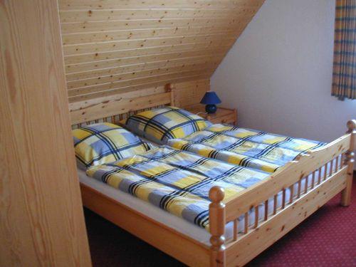 Schlafbereich Nr. 1 mit Doppelbett
