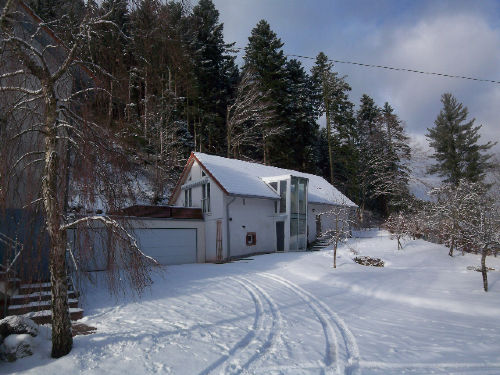 Winterlandschaft in den Vogesen