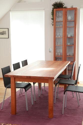 Heller Essplatz im Appartement Violet