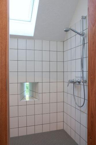 Die italienische Dusche im Appartement
