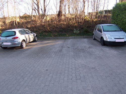 Eigener Parkplatz