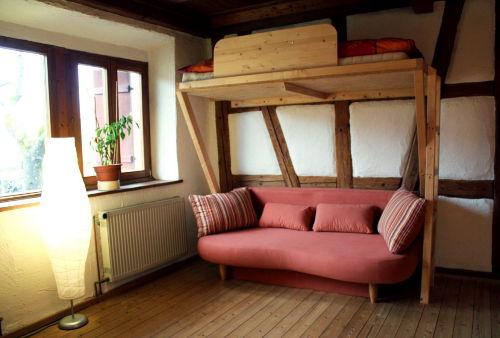 Hochbett Schlafzimmer 3 im OG