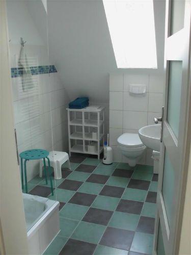 Bad i. großen Appartement