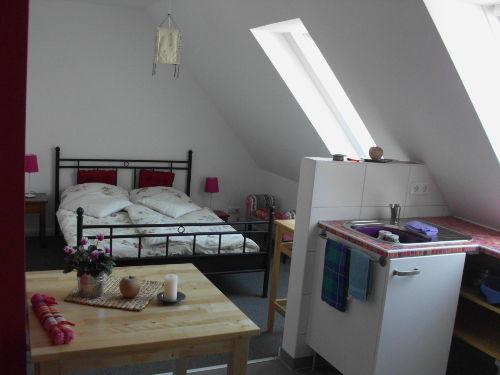 Schlafen kleines Appartement