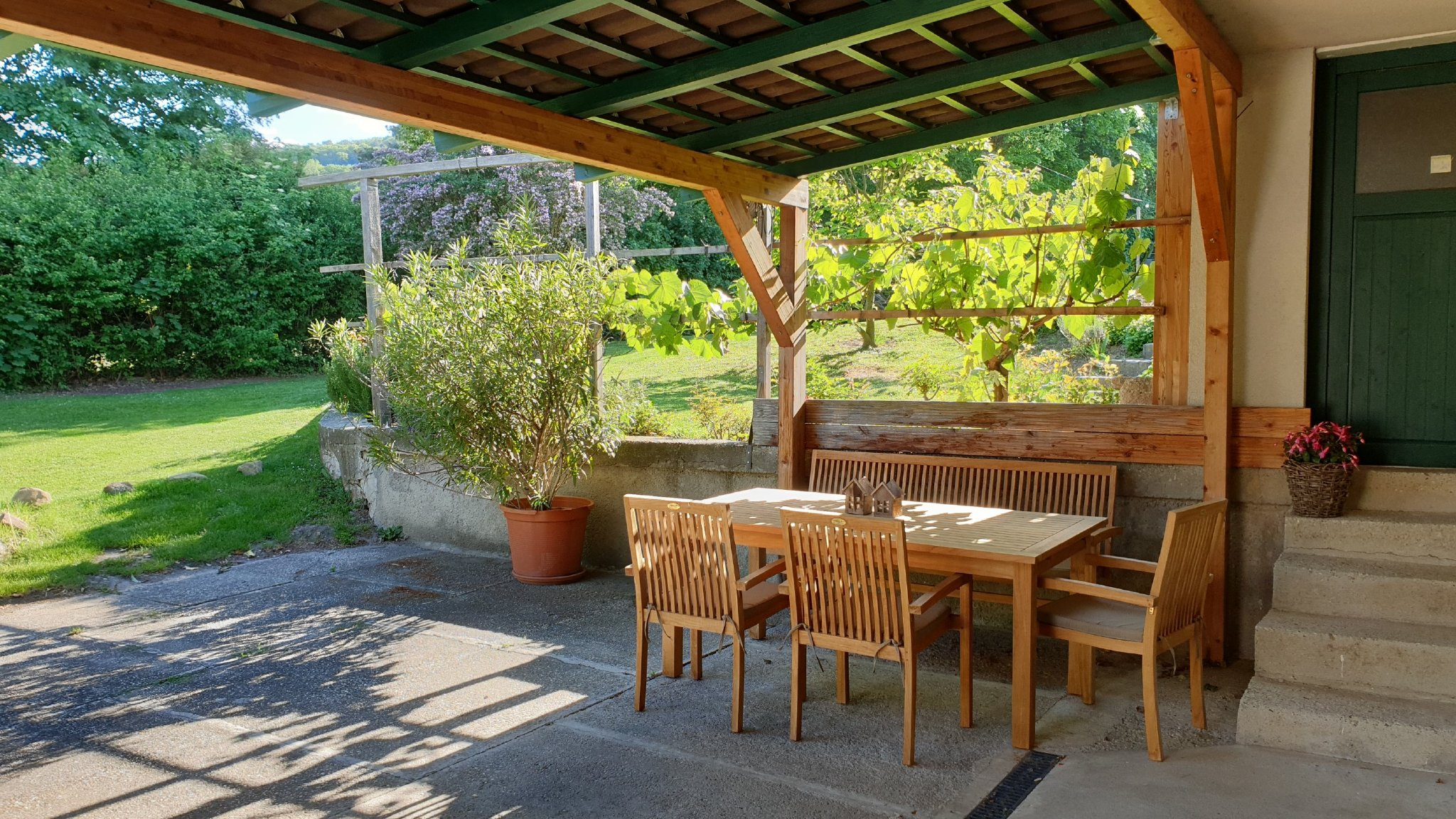 eigene Terrasse von Apartment�3