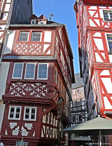 Der mittelalterliche Stadtkern.