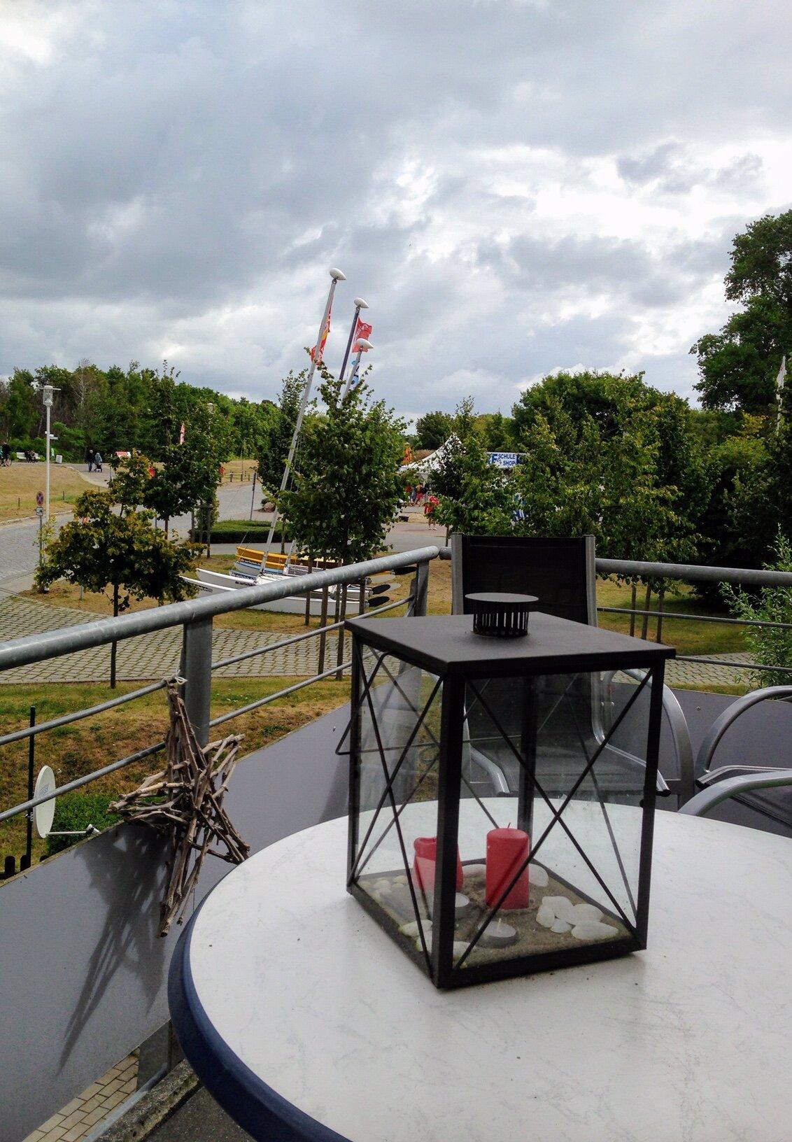 Balkon - schön draußen sitzen