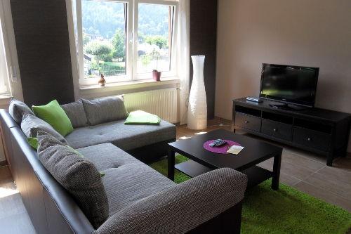 Wohnzimmerecke mit TV