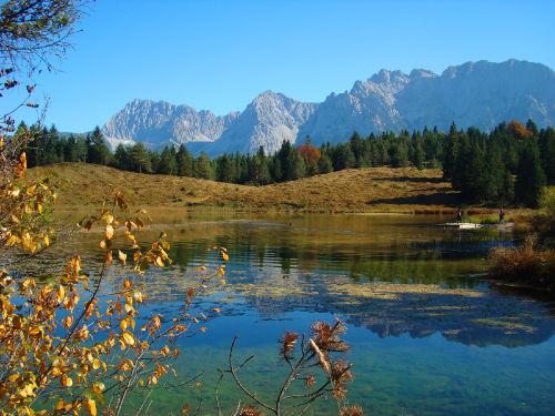 Wildensee mit Karwendel