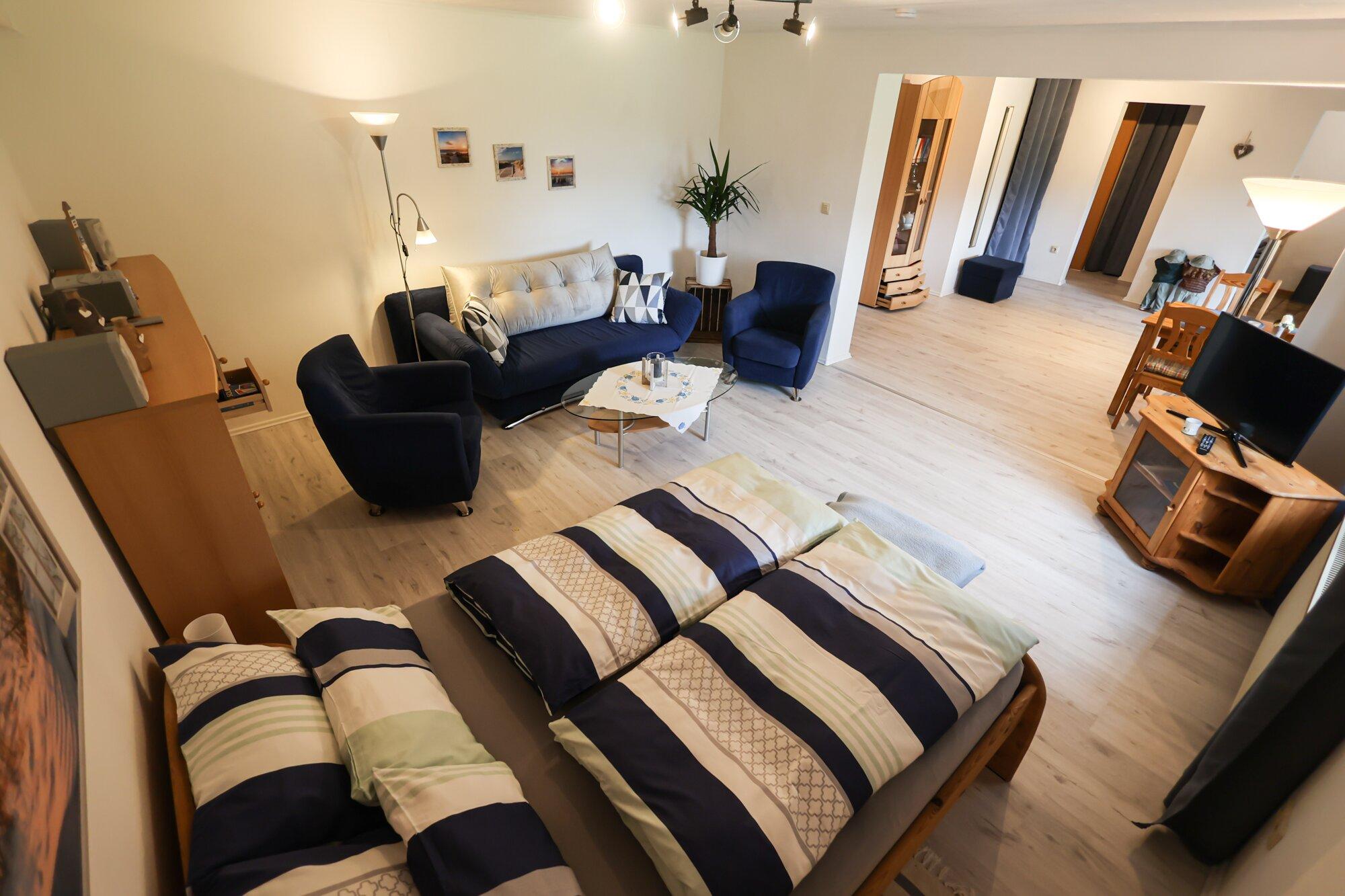 Zwei oder vier Schlafplätze möglich