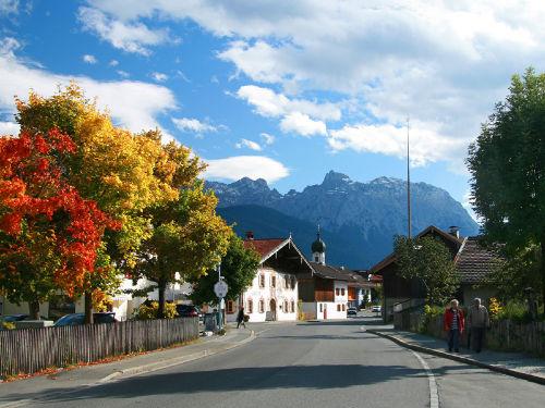 Herbst in Krün
